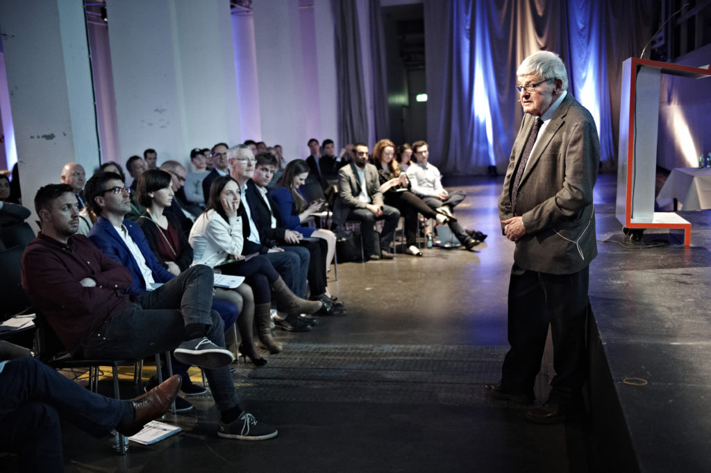 Peter Preston @ Copenhagen ceremony 2015