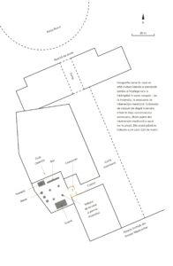 Schița zonei în care se află clubul Colectiv, în interiorul Fabricii Pionierul. Geografia spațiului e esențială pentru a înțelege firul evenimentelor.