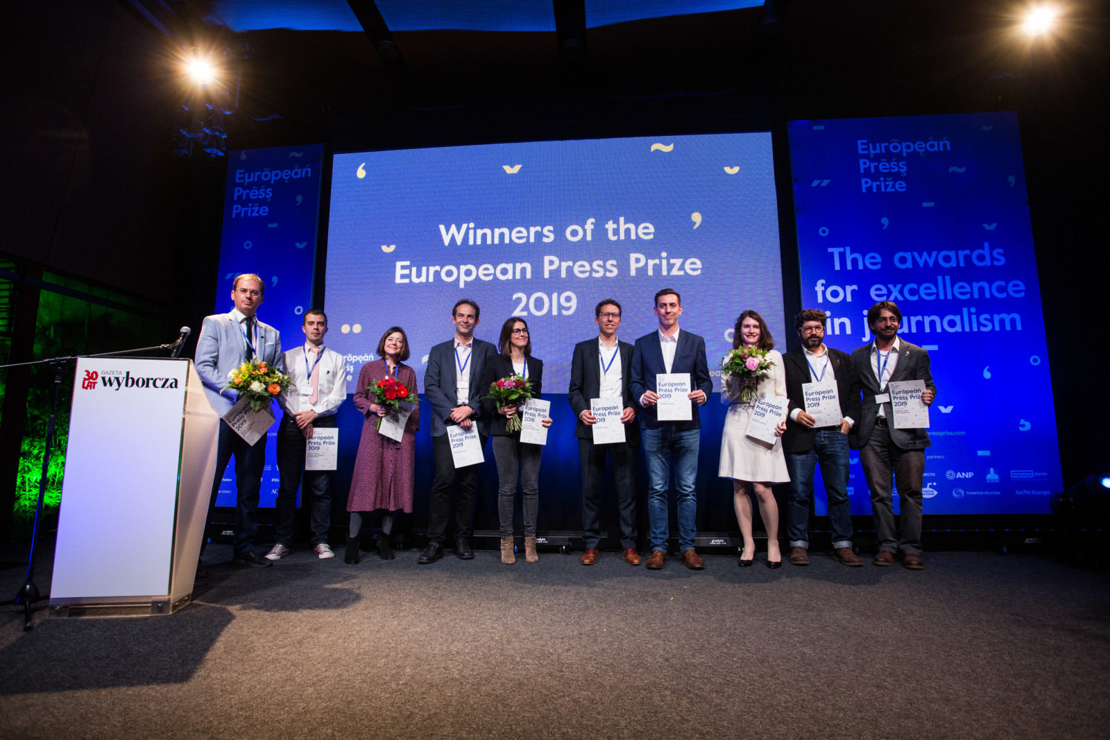 These are the winners of the European Press Prize 2019 - European