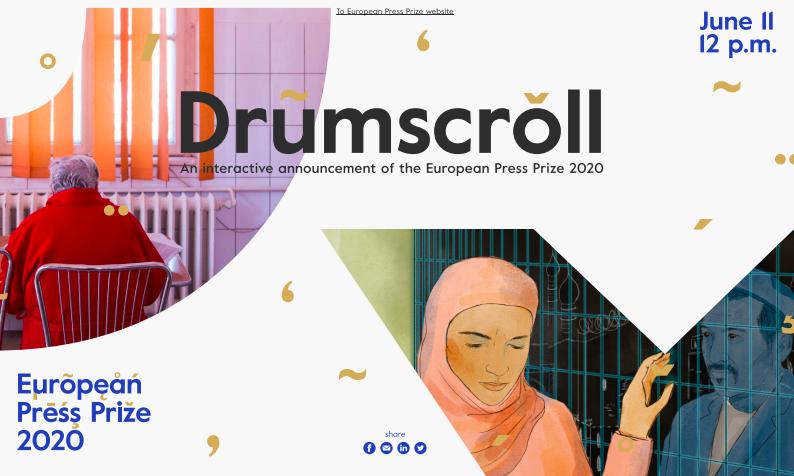 drumscroll - european press prize