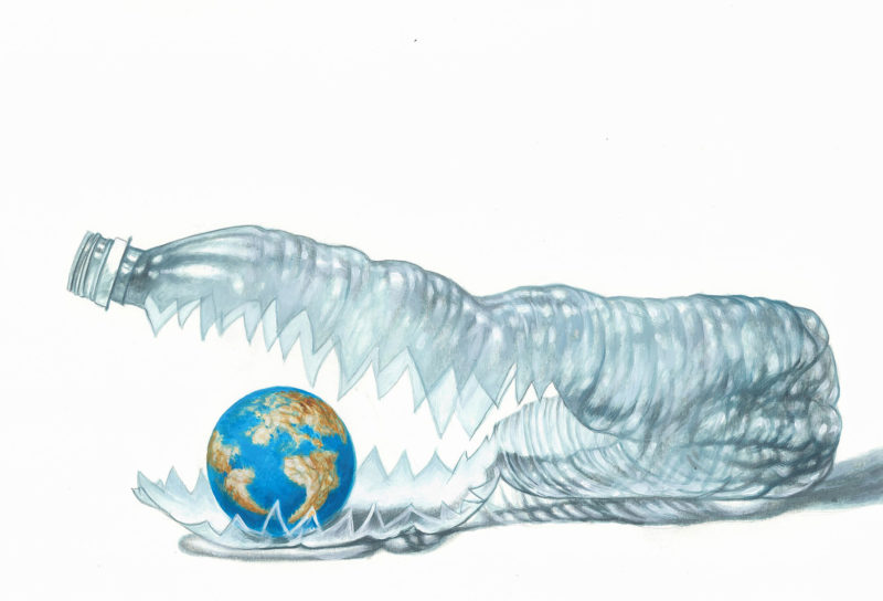 The dramaticity of plastic pollution